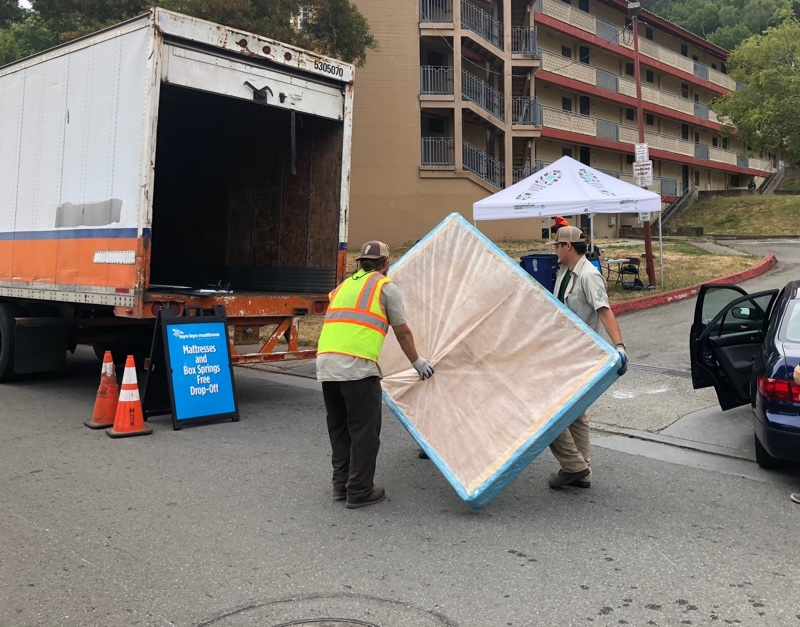 Conservation Corps North Bay Used Mattress Recycling