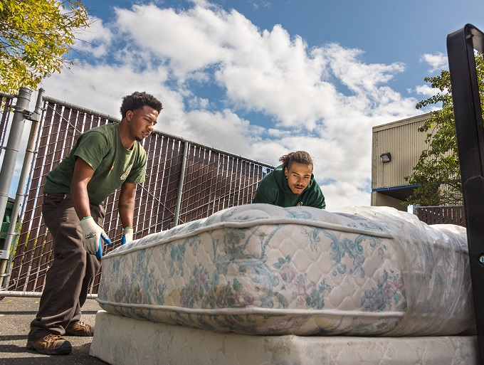 March 2020 Project Spotlight: Mattress Recycling