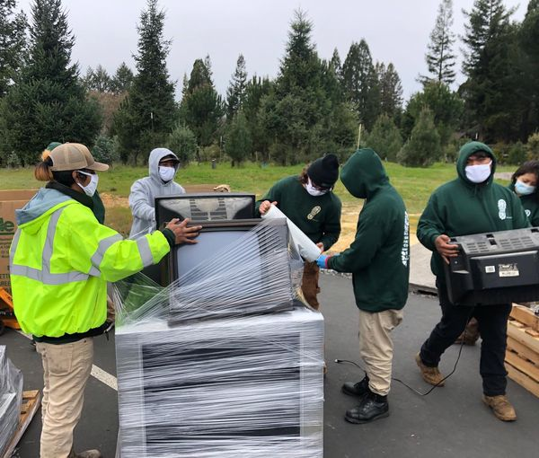 Conservation Corps North Bay E-Waste Recycling