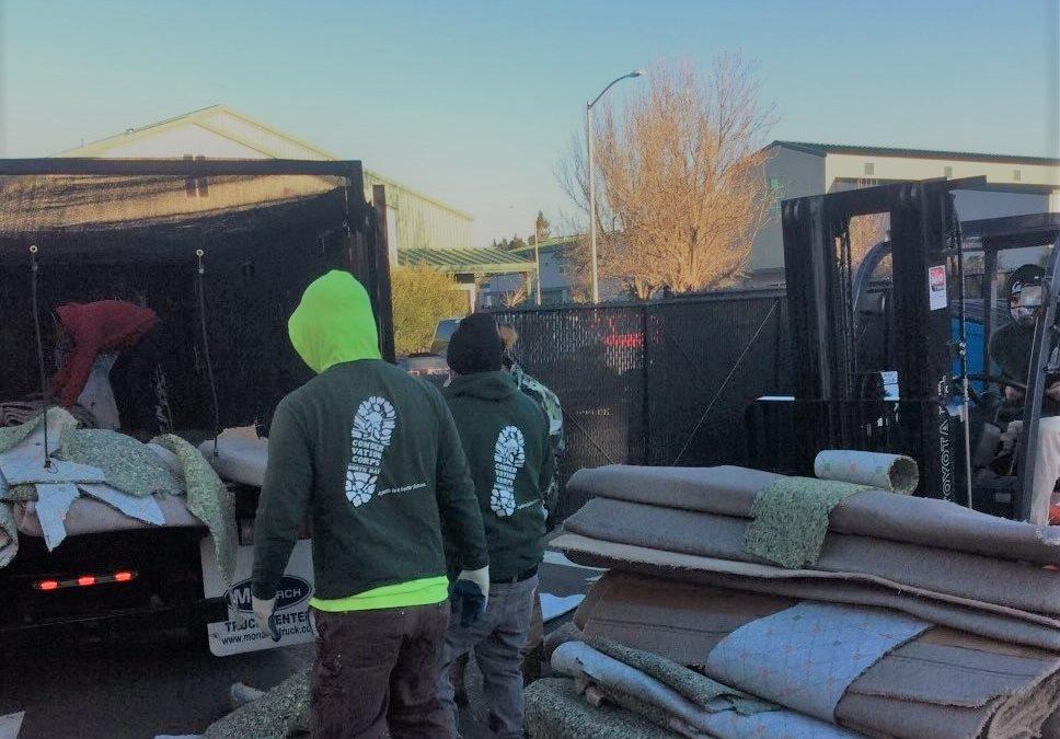 June 2021 Project Spotlight: Carpet Recycling